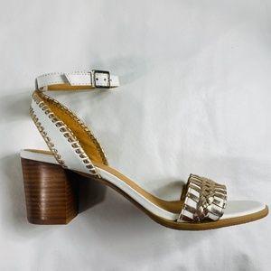 NEW - JACK ROGERS Tinsley  Mid Heel Sandal